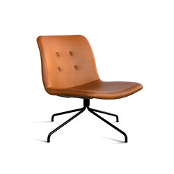Primum Lounge Chair black base | Poltrone lounge | Bent Hansen