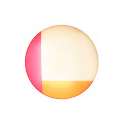 Luma Light | Round: White, Pink and Orange | Iluminación general | Videre Licet