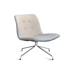 Primum Lounge Chair chrome base | Lounge chairs | Bent Hansen