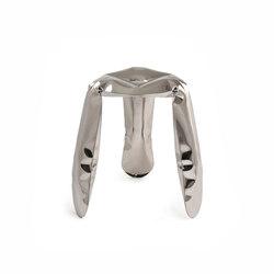 Plopp Stool | Standard | inox steel | Hocker | Zieta