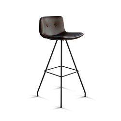 Primum Bar Stool High black base | Barhocker | Bent Hansen