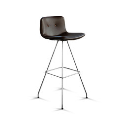 Primum Bar Stool High chrome base | Sgabelli bar | Bent Hansen