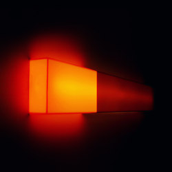 Luma Light | Long Horizontal: Orange and Dark Bronze | Illuminazione generale | Videre Licet