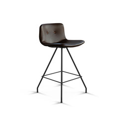 Primum Bar Stool Low black base | Taburetes de bar | Bent Hansen