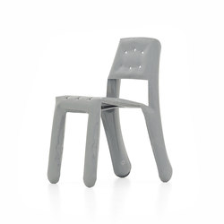 Chippensteel 0.5 | grey | Visitors chairs / Side chairs | Zieta
