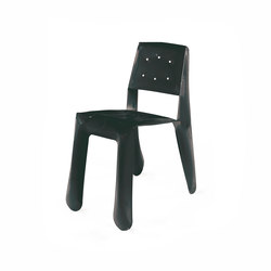 Chippensteel 0.5 | black | Visitors chairs / Side chairs | Zieta