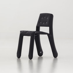 Chippensteel 0.5 | Alu | black | Visitors chairs / Side chairs | Zieta
