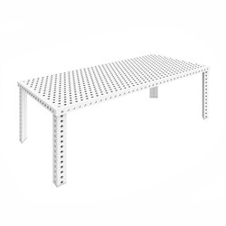 3+ Table L | white matt | Tables de restaurant | Zieta