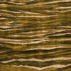 Gabbehs Abstract & Plain Rolling Green Hills | Formatteppiche | Zollanvari