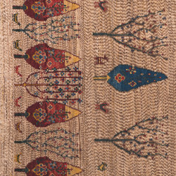 Gabbehs Flora & Fauna Multiple Trees Landscape 1 | Tappeti / Tappeti d'autore | Zollanvari