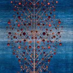 Gabbehs Flora & Fauna Tree of Life 13 | Formatteppiche / Designerteppiche | Zollanvari