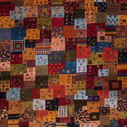 Gabbehs Geometric Framed Squares Revisited 4 | Formatteppiche / Designerteppiche | Zollanvari