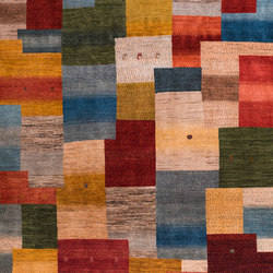 Gabbehs Geometric Modernist Squares Revisited 1 | Rugs | Zollanvari