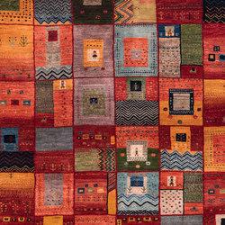 Gabbehs Geometric Squares Revisited 12 | Tappeti / Tappeti d'autore | Zollanvari