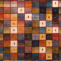 Gabbehs Geometric Squares Revisited 13 | Rugs | Zollanvari