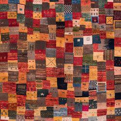 Gabbehs Geometric Squares Revisited 16 | Formatteppiche / Designerteppiche | Zollanvari