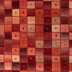 Gabbehs Geometric Squares Revisited 19 | Rugs | Zollanvari