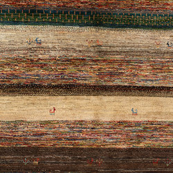 Gabbehs Geometric Stripes 8 | Tappeti / Tappeti d'autore | Zollanvari