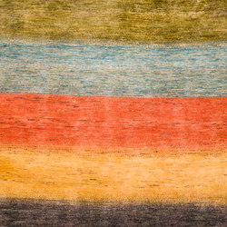 Gabbehs Geometric Stripes 16 | Tappeti / Tappeti d'autore | Zollanvari