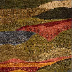 Gabbehs Landscape Modernist Landscapes of my Fatherland 1 | Rugs / Designer rugs | Zollanvari