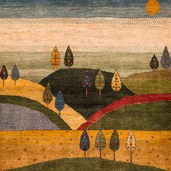 Gabbehs Landscape Naive Landscapes of my Fatherland 2 | Rugs / Designer rugs | Zollanvari