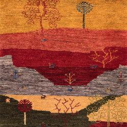 Gabbehs Landscape Naive Landscapes of my Fatherland 3 | Tappeti / Tappeti d'autore | Zollanvari