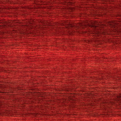 Gabbehs Abstract & Plain Abrash Red | Alfombras / Alfombras de diseño | Zollanvari