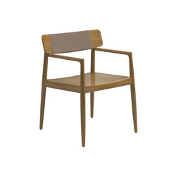 Archi Dining Chair with Arms | Sillas | Gloster Furniture GmbH
