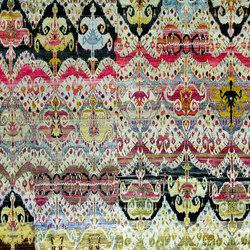 Kundan Diffusion Koti Silk Baroque Ikat 3 | Alfombras / Alfombras de diseño | Zollanvari