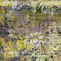Kundan Diffusion Koti Silk Chinese Flower-Power | Formatteppiche / Designerteppiche | Zollanvari