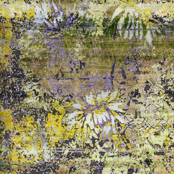Kundan Diffusion Koti Silk Chinese Flower-Power | Tappeti / Tappeti d'autore | Zollanvari