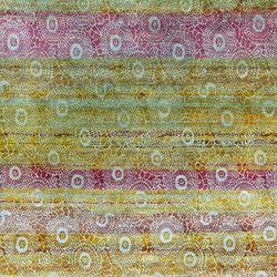 Kundan Diffusion Koti Silk Chrysantemums | Formatteppiche / Designerteppiche | Zollanvari