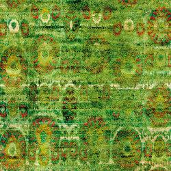 Kundan Diffusion Koti Silk Flower and Medallions | Rugs / Designer rugs | Zollanvari