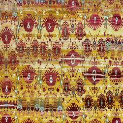 Kundan Diffusion Koti Silk Ikat Pendants and Flowers 5 | Alfombras / Alfombras de diseño | Zollanvari