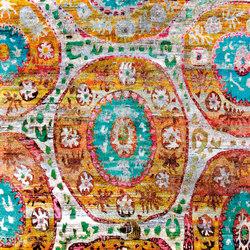 Kundan Diffusion Koti Silk Kaitag 5 | Alfombras / Alfombras de diseño | Zollanvari