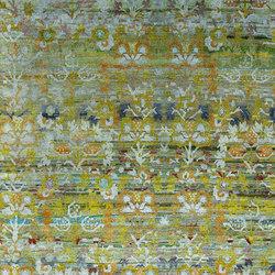 Kundan Diffusion Koti Silk Kaitag Flowers 2 | Alfombras / Alfombras de diseño | Zollanvari