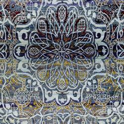 Kundan Diffusion Koti Silk Mudejar Medaillon | Formatteppiche / Designerteppiche | Zollanvari