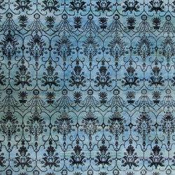 Kundan Diffusion Koti Silk Vintage Velvet 1 | Formatteppiche / Designerteppiche | Zollanvari