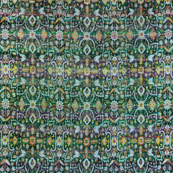 Kundan Pure Silk Classical Persian Flower Field | Rugs / Designer rugs | Zollanvari