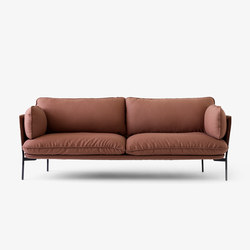 Cloud Three Seater LN3.2 steel cut | Lounge sofas | &TRADITION