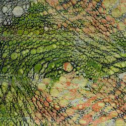 Kundan Pure Silk Iridescence Alligator | Formatteppiche / Designerteppiche | Zollanvari