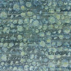 Kundan Pure Silk Iridescence Ostrich | Formatteppiche / Designerteppiche | Zollanvari