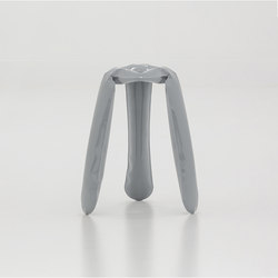 Plopp Stool | Kitchen | grey | Barhocker | Zieta
