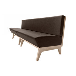 Dandy 207 | Waiting area benches | Metalmobil