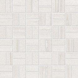 Evo-Q White Mosaico Domino | Ceramic mosaics | EMILGROUP
