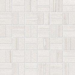 Evo-Q White Mosaico Domino | Mosaici | EMILGROUP