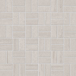 Evo-Q Light Grey Mosaico Domino | Mosaici | EMILGROUP