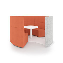 POINT CUP | Modular seating systems | INTO the Nordic Silence