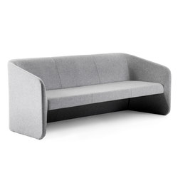 Race 3 seater sofa | Lounge sofas | Johanson