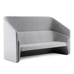 Race 3 seater sofa with screen | Canapés | Johanson